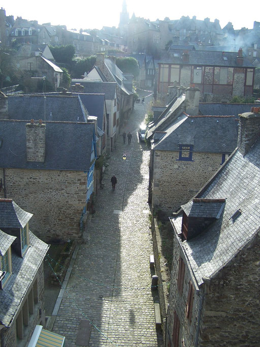 Dinan, Rue du Jerzual