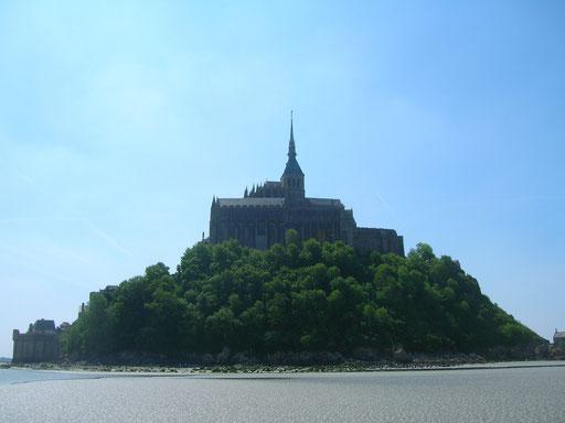 Mont Saint-Michel, vue nord