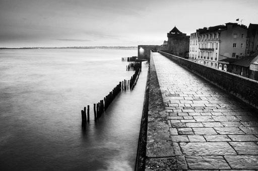 Remparts près du chateau de St-Malo, photo Clément Delarue