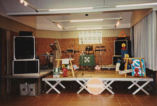"""Chainreaction - Auftritt """"Mammut-Fete"""", AC-Haaren, 03.11.1989"""