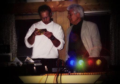 Party Power Music - Vater und Sohn