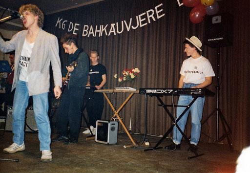"""Chainreaction - Auftritt """"Haus des Deutschen Ostens (HDO)"""", 19.11.1988"""