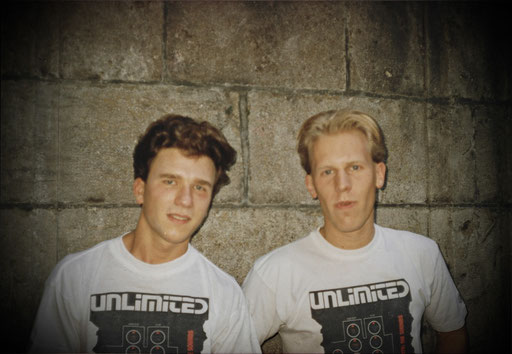 Unlimited are: Oliver Adenaw & Dirk Schmalen, 26.08.1990