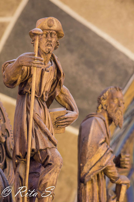 Apostel Jakobus auf dem Schalldeckel
