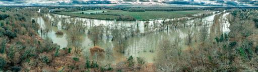 La Charente en crue (février 2021) 16FR
