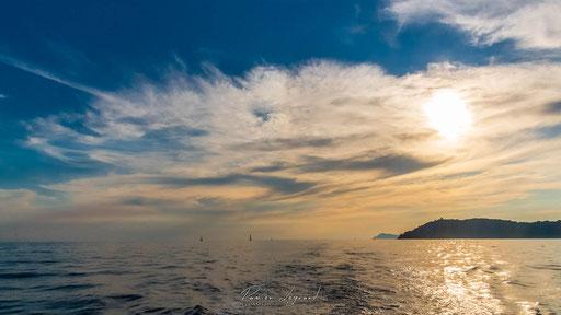 Couché de soleil sur la pointe des Salis, presqu'île de Giens - FR83