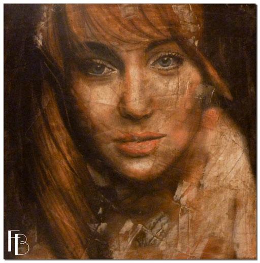 Portrait 21 - Série Stuc (vendu)