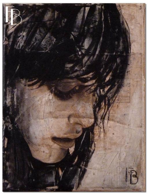 Portrait 7 - Série Stuc (vendu)