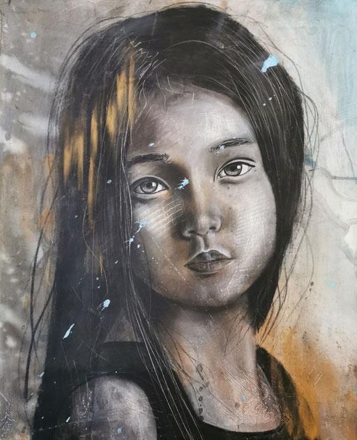 Peinture sur bois #9