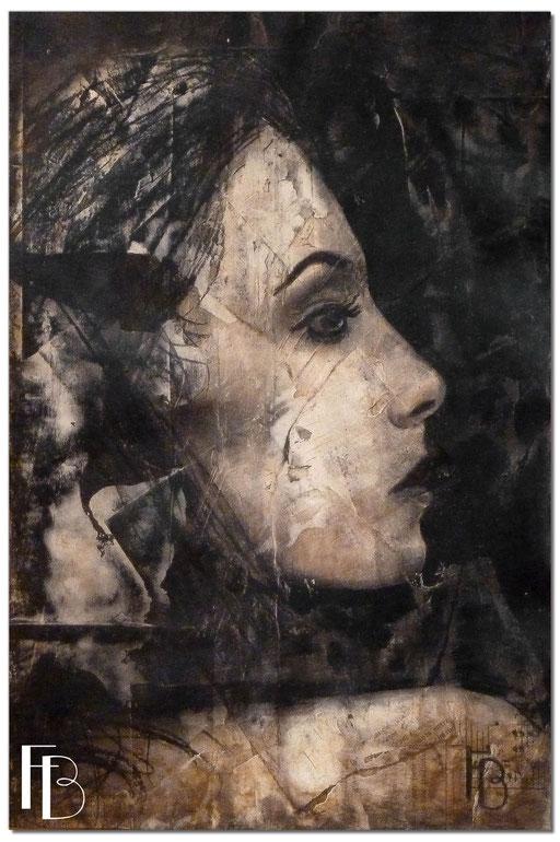 Portrait 16 - Série Stuc (vendu)