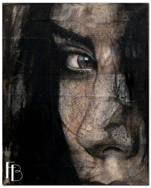 Portrait 39 - Série Stuc (vendu)