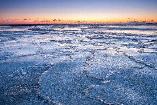 IJs op Groene strand Noordsvaarder - Terschelling © Jurjen Veerman