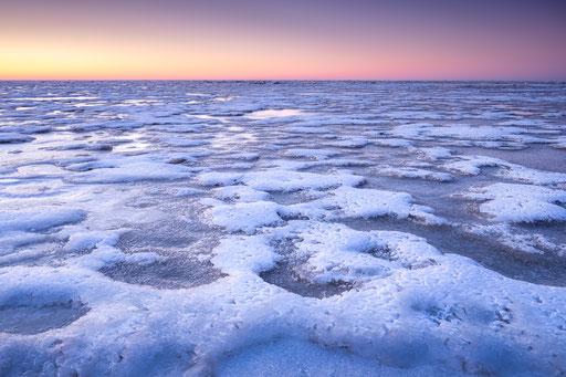 Bevroren Waddenzee Oosterend - Terschelling © Jurjen Veerman