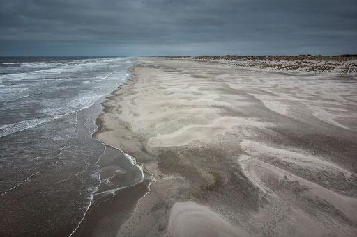Drone shot Noordzeestrand Terschelling © Jurjen Veerman