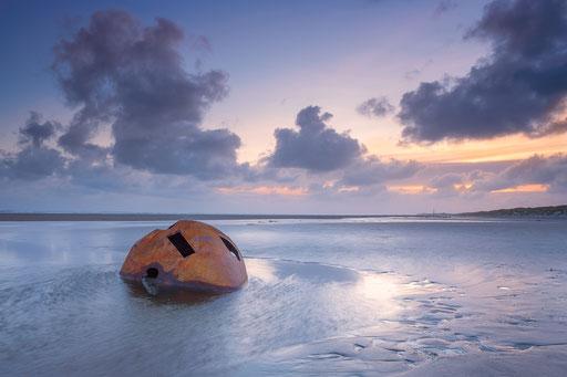 Aangespoelde boei na storm Ciara - Noordzeestrand Terschelling © Jurjen Veerman