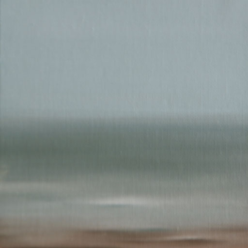 Gualala USA_Pazifik 1, Öl auf Nessel, 15 x 15 cm