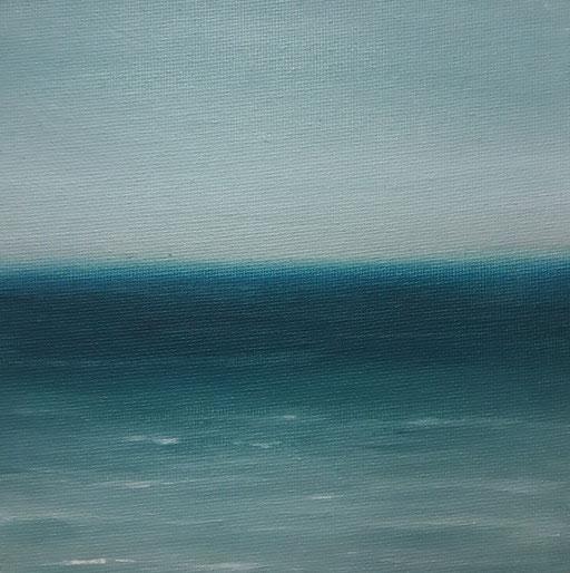 Sri Lanka_Indischer Ozean 2, Öl auf Nessel, 15 x 15 cm