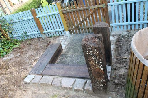 Granit betont Materialwechsel