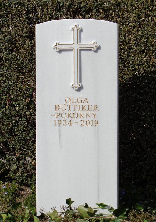 Grabstein Büttiker