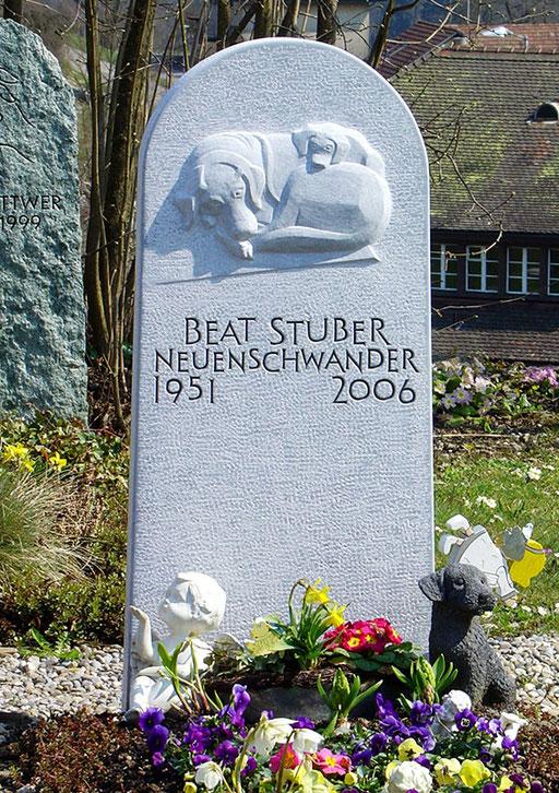 Grabstein Stuber