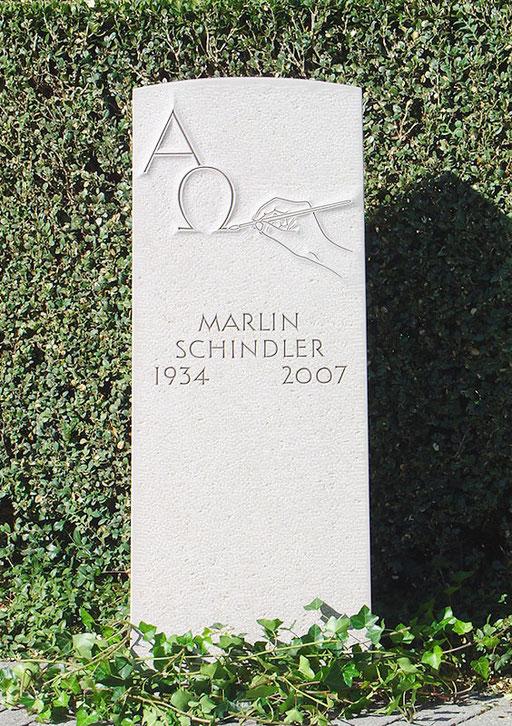 Grabstein Schindler