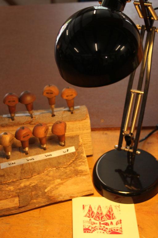 Linolschnitt Werkzeug
