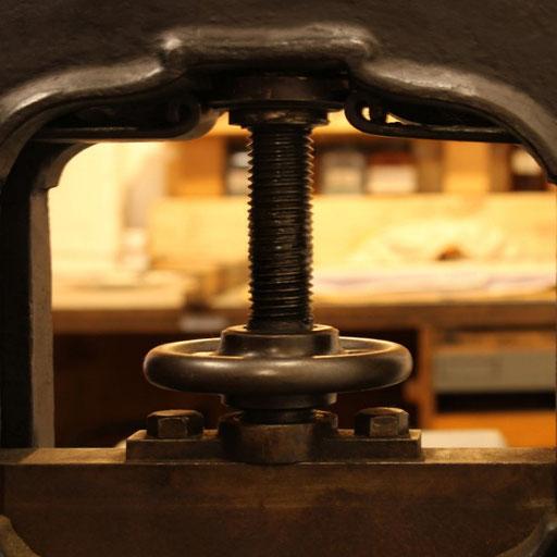 Lithografie Presse
