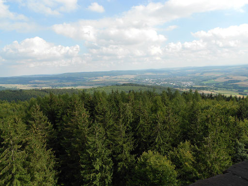 Blick vom Sollingturm, Bild 1.