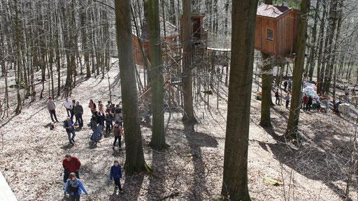 Freiraum und Baumtraum. Bild: Baumhaushotel Solling.