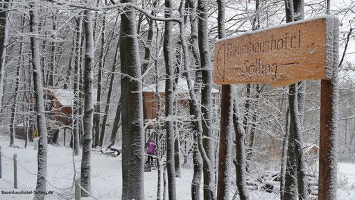 Baumhäuser Ahletal und Rundhaus, Baumhaushotel Solling