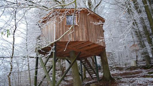 Baumhaus Rundhaus, Baumhaushotel Solling