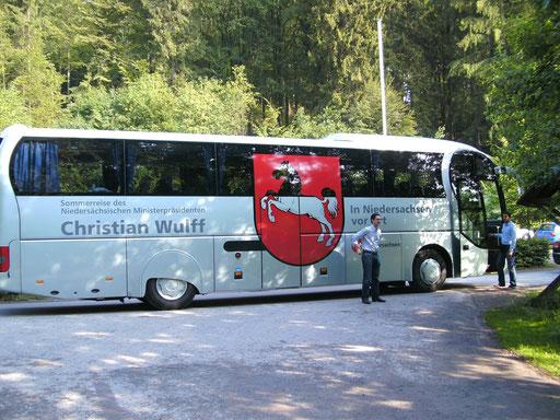 Eindrucksvoller Bus.