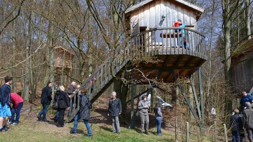 Viele interessierte Besucher.