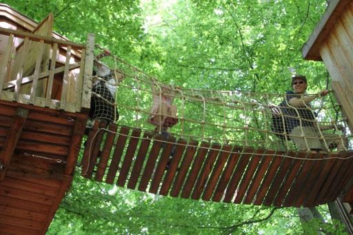 Hängebrücke Baumtraum.
