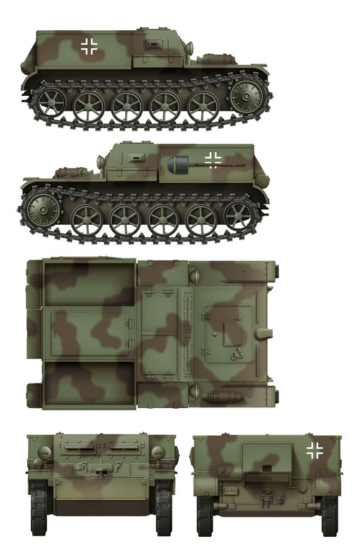 Das Werk Gepanzerter Munitionsschlepper VK3.02 Colour Profile #2