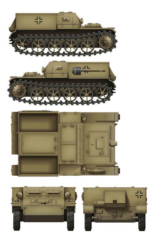 Das Werk Gepanzerter Munitionsschlepper VK3.02 Colour Profile #4