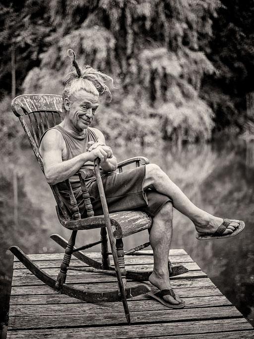 Rüdiger Katterwe-Mofo 8.18 Ulf Lochau am Teich