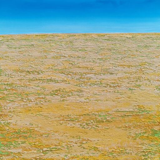 Moment 119; 100 x 100 cm; Mischtchnik auf Leinen; 2020