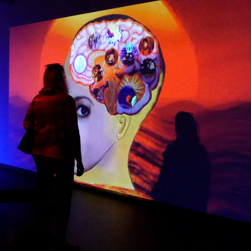 Die Ausstellung ist vom 20.8. – 4.10.2020.
