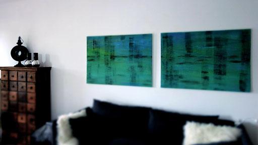 Duo  Leinwand ( a 120x80 )