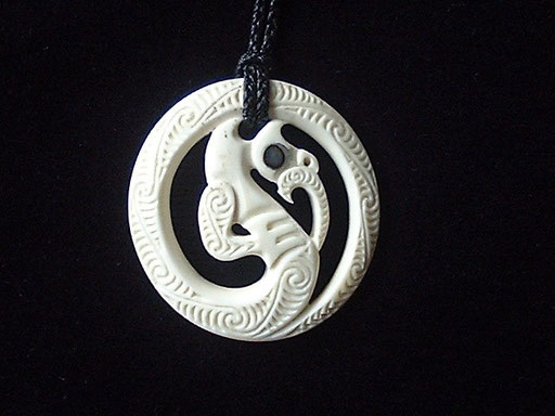 #42 Manaia in circle form /sold