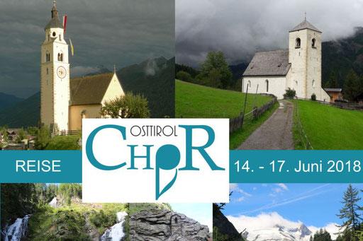 14.-17. Juni 2018 Chorreise Matrei