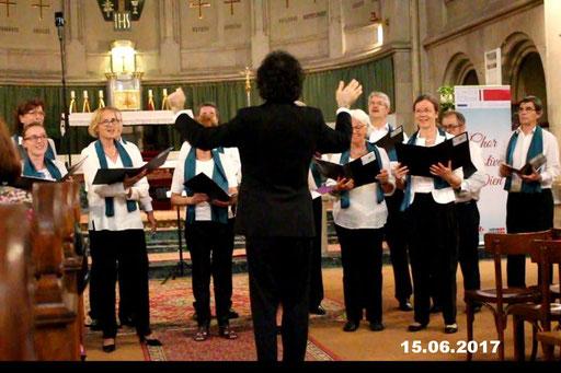 16.06.2017 Chorfestival Wien in der Canisiuskirche