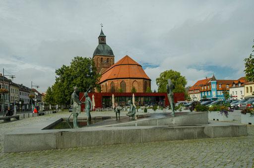 Martplatz von Ribnitz-Damgarten