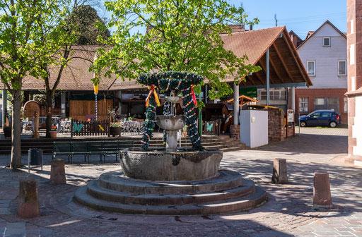 Drei-Schalen-Brunnen, Külsheim, TBB