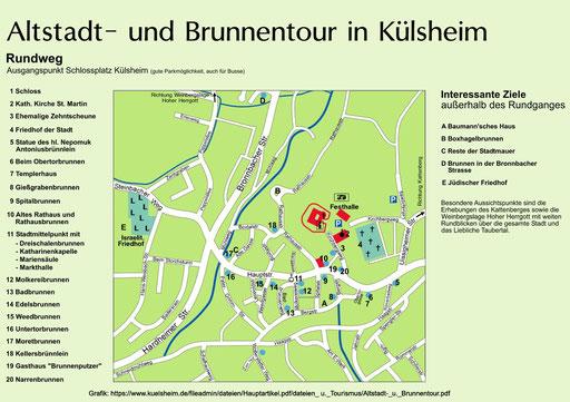 """Külsheim, """"Die Stadt der Brunnen"""""""