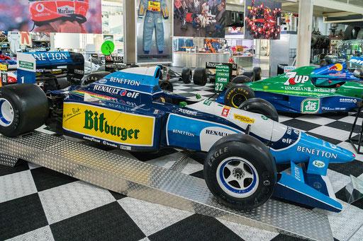 Benetton B195; 700 PS; Baujahr: 1995