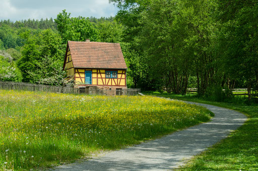 Taglöhnerhaus aus Heinrichsthal, Landkreis Main-Spesssart