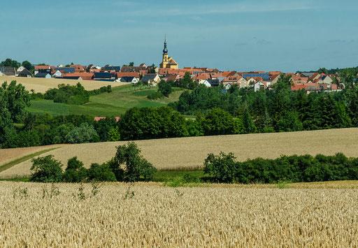 Blick auf Willanzheim