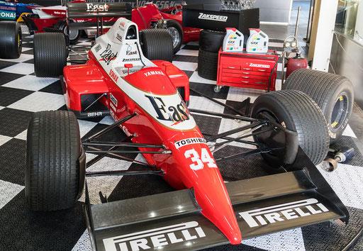Zakspeed West F1; 748 PS; Baujahr: 1987